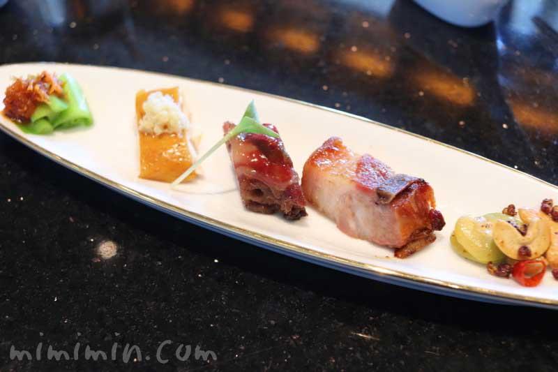 前菜の焼物|龍天門のランチコースの画像