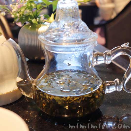 工芸茶|龍天門のランチコースの写真