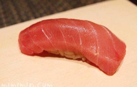 マグロ|鮨 くりや川のランチ(恵比寿の寿司屋)の写真