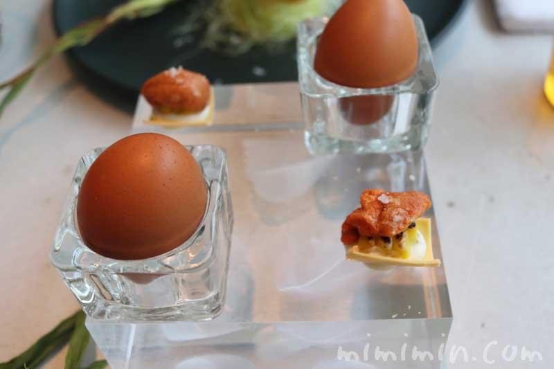 カルボナーラの卵|クラフタルのランチの写真
