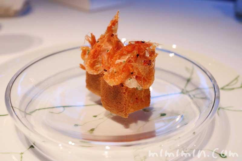 桜海老・桜・ボタン海老|AMOUR(アムール)のディナー|恵比寿のフレンチの画像