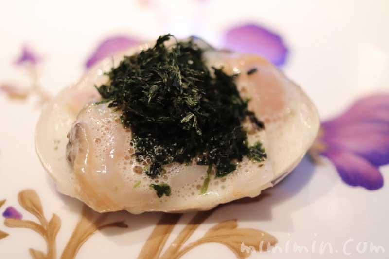 蛤・ボルディエ・有明海苔|AMOUR(アムール)のディナー|恵比寿のフレンチの写真