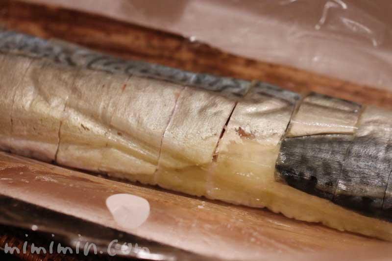 魚庵の棒寿し|金華鯖の画像