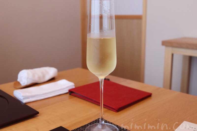 白ワイン|温故知新(恵比寿)のランチ|日本料理・懐石料理の画像