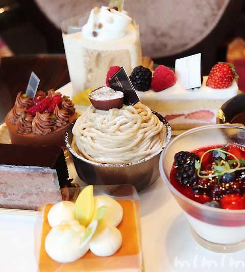 ウェスティンホテル東京のケーキセット|恵比寿のカフェ