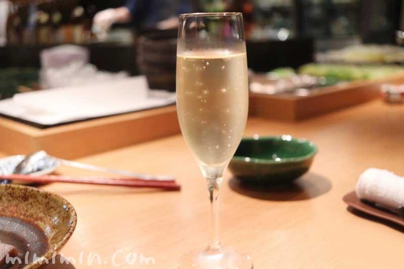 スパークリングワイン|こんぶや(恵比寿)|おでん居酒屋の写真