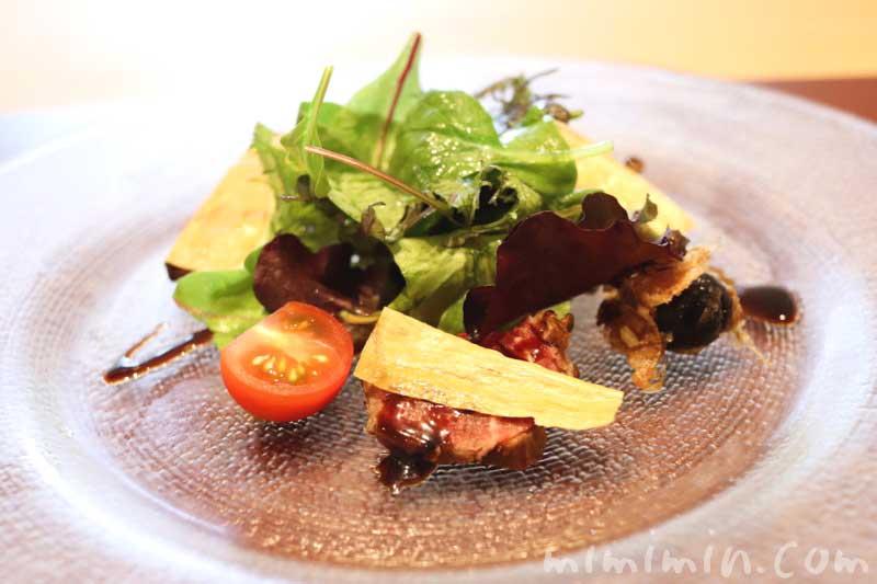 サラダ|Q.E.D.クラブの鉄板焼きランチの画像