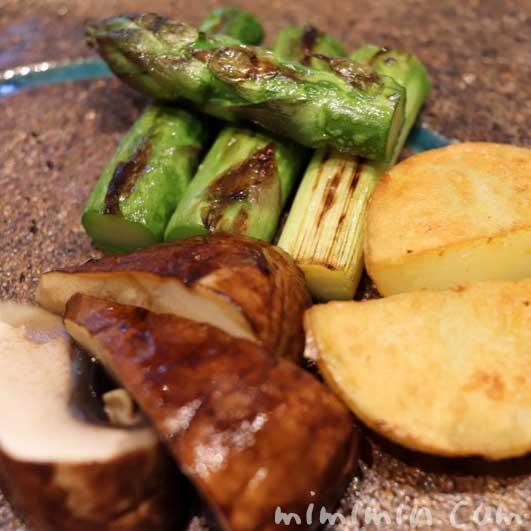 野菜|Q.E.D.クラブの鉄板焼きの写真