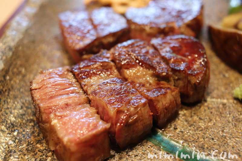 牛ステーキ|Q.E.D.クラブの鉄板焼きの画像