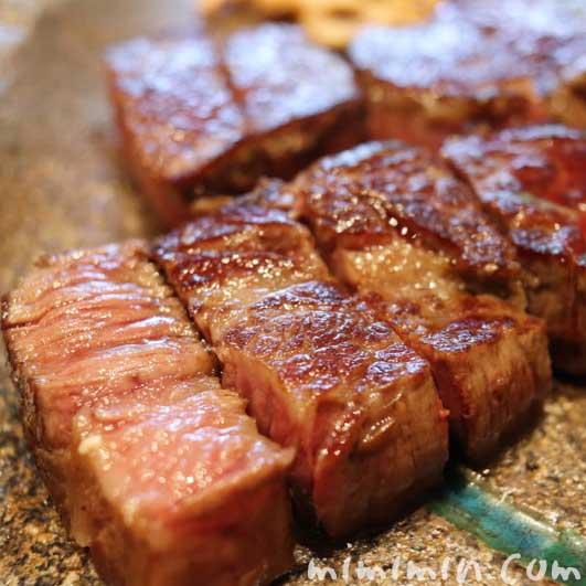 牛ステーキ|Q.E.D.クラブの鉄板焼きランチの画像