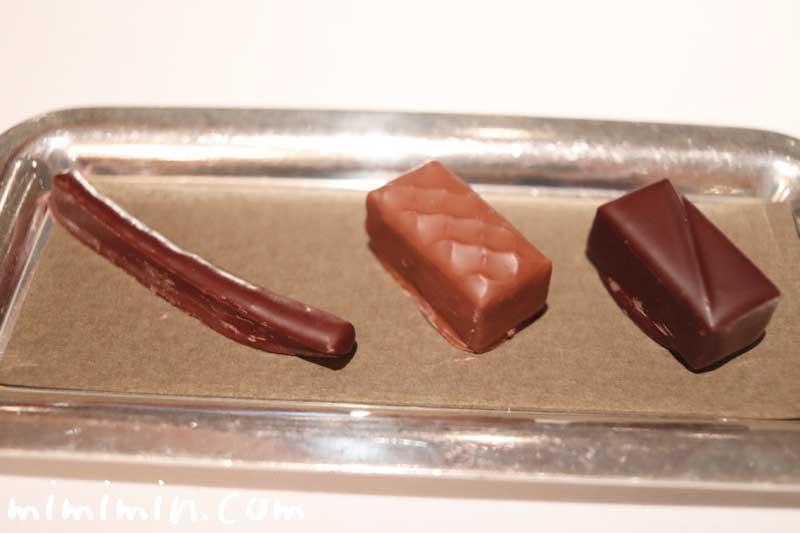 オレンジピール、ナッツのチョコ、ダークチョコ|レ・セゾンの画像