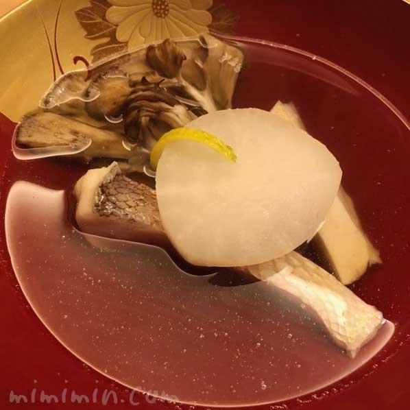 椀物|恵比寿くろいわ|和食・京料理・懐石料理の画像