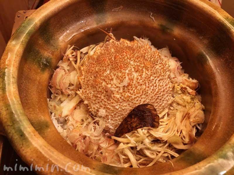 松茸と毛蟹の土鍋ご飯|恵比寿くろいわのディナー|和食・京料理の写真