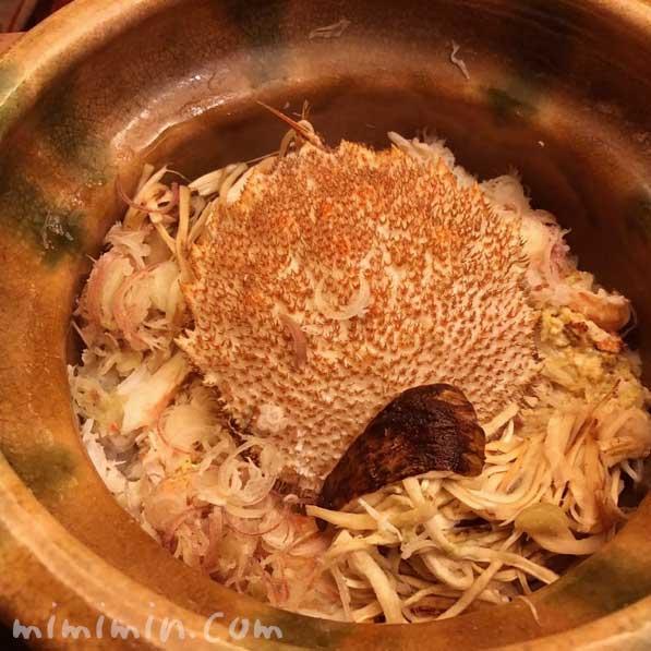 松茸と毛蟹の土鍋ご飯|恵比寿くろいわのディナー|和食・京料理の画像