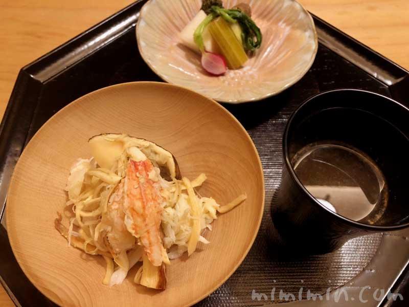松茸と毛蟹ご飯|恵比寿くろいわのディナー|和食・京料理の画像