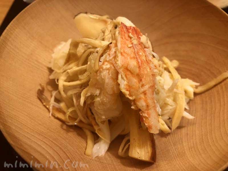 松茸と毛蟹のご飯|恵比寿くろいわ ディナー|和食・京料理の画像