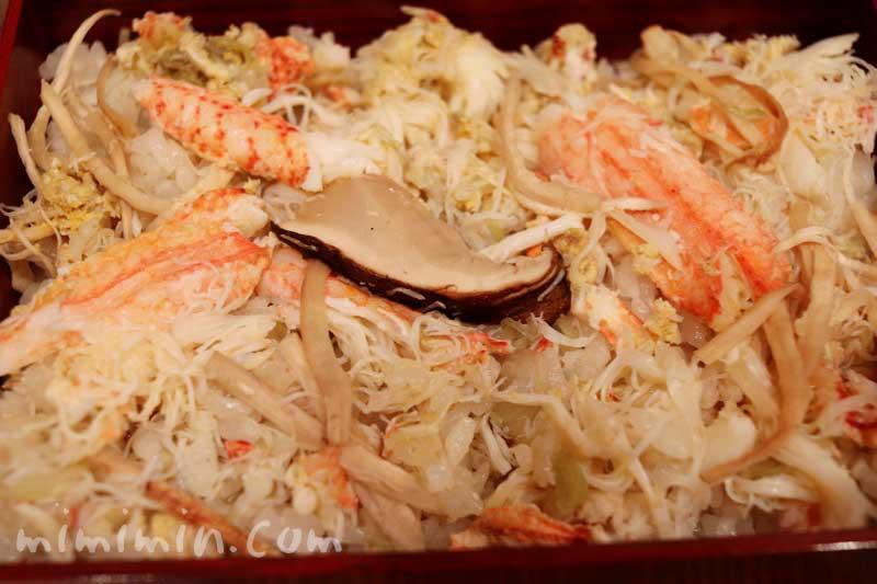 松茸と毛蟹の炊き込みご飯|恵比寿くろいわ ディナー|和食・京料理の画像