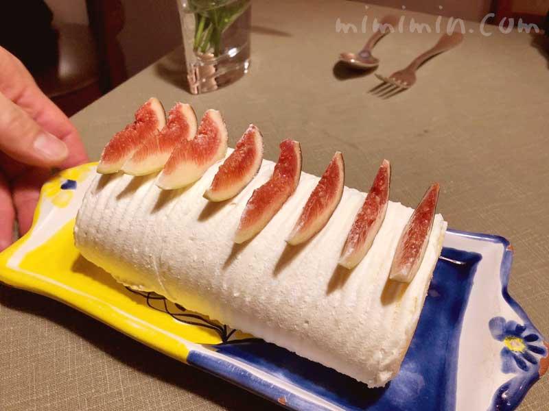 いちじくのロールケーキ|アッピア本店(APPIA)の写真