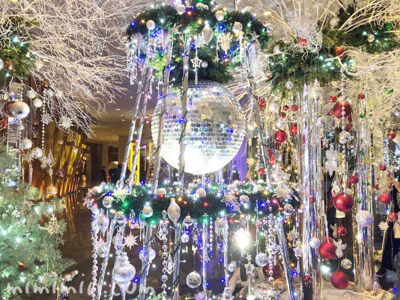 グランドハイアット東京 クリスマスイルミネーション