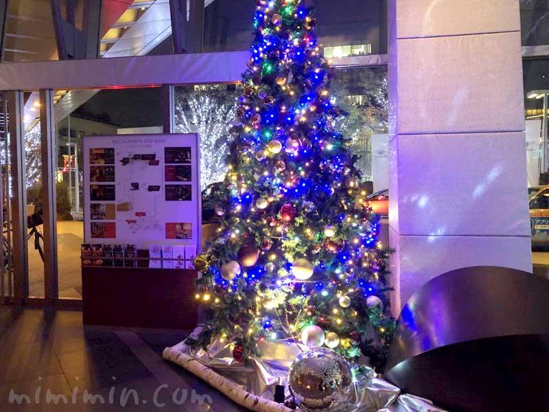グランドハイアット東京のクリスマスツリーの画像