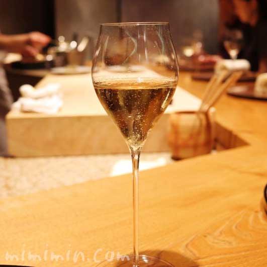 シャンパン|六本木 kappou ukai の写真