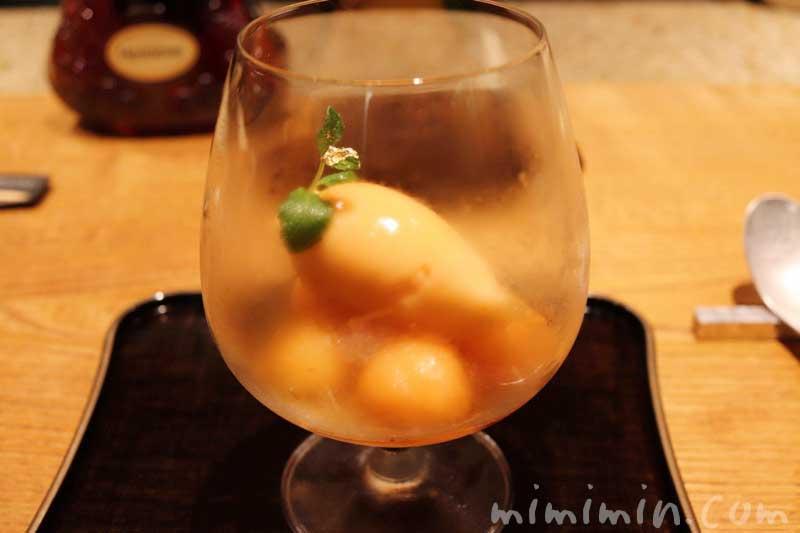 デザート|六本木 kappou ukai のディナーの写真