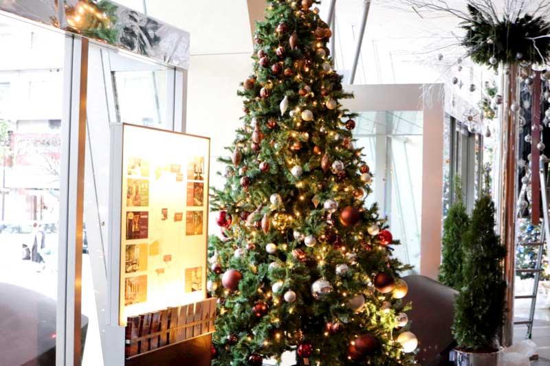 六本木グランドハイアット東京のクリスマスツリーの写真