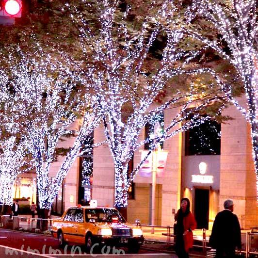 六本木けやき坂 クリスマスイルミネーション