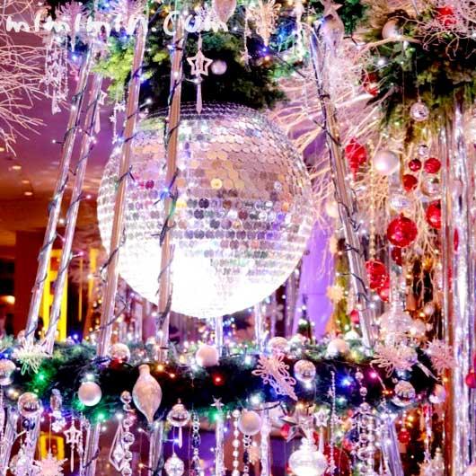 六本木グランドハイアット東京のクリスマスイルミネーションの写真