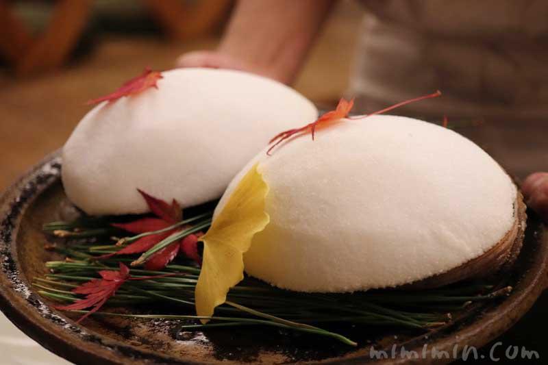 柚子と山葵のソルベ|赤坂 菊乃井の写真