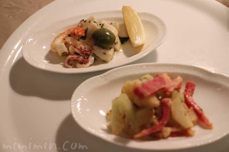 冷たい前菜|アッピア アルタ 西麻布の画像