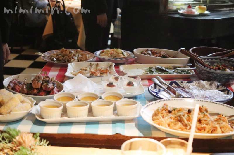 前菜のワゴン|キャンティ 西麻布店でディナー イタリアンの画像