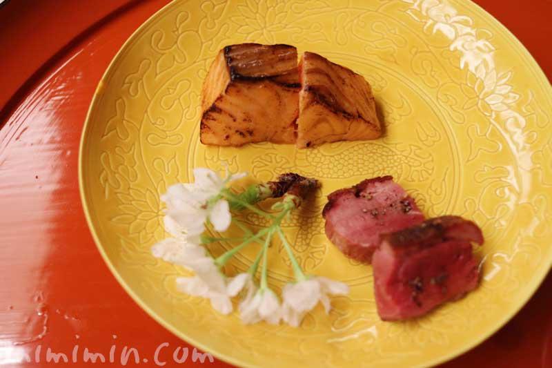 焼物 4月|赤坂 菊乃井のディナー|懐石料理の写真