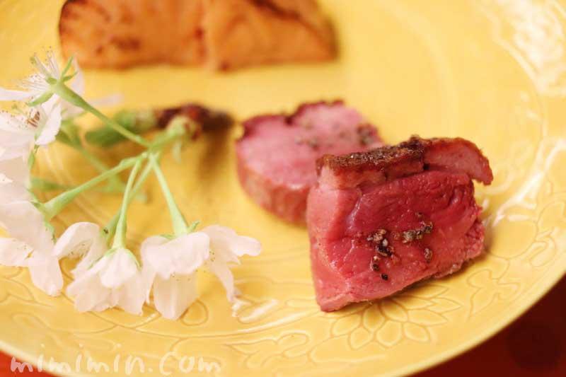 鴨の桜焼き|赤坂 菊乃井のディナーの写真