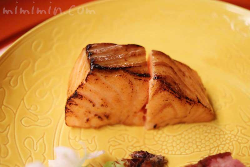 桜鱒の燻焼|赤坂 菊乃井のディナーの画像