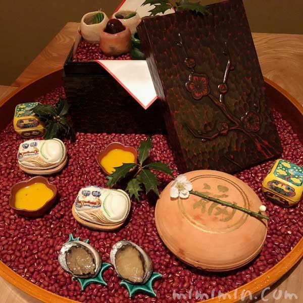 八寸|くろいわの懐石ディナー|日本料理・会席・和食の画像