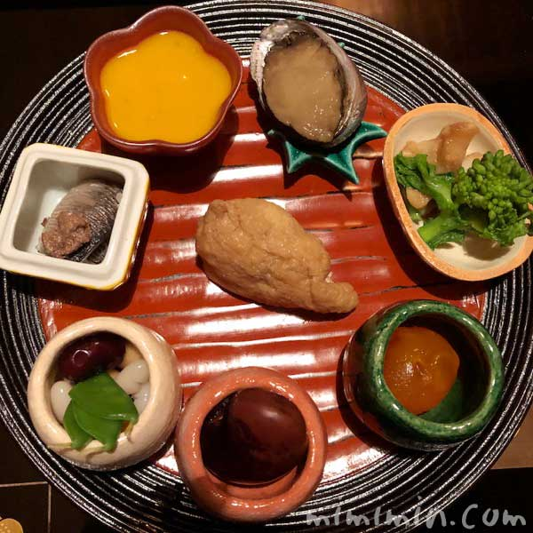 八寸|くろいわの懐石ディナー|日本料理・会席の画像