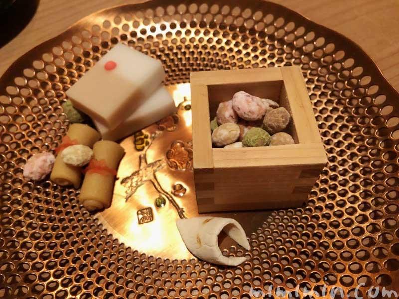 千菓子|恵比寿くろいわの懐石ディナー|和食・日本料理の写真