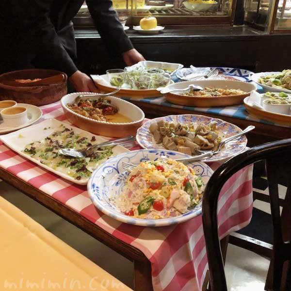前菜ワゴン|キャンティ 西麻布店(2回め)の画像