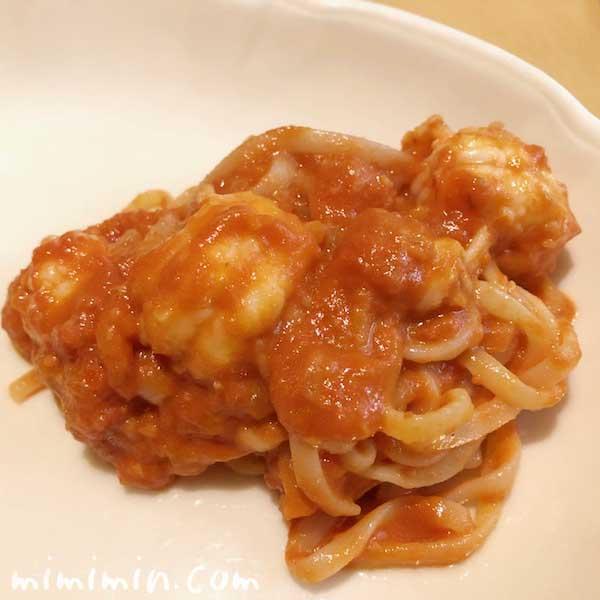 スカンピのトマトソースパスタ|キャンティの画像