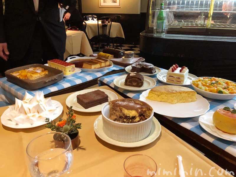 デザートワゴン|キャンティ 西麻布店でディナー(2回め)の画像