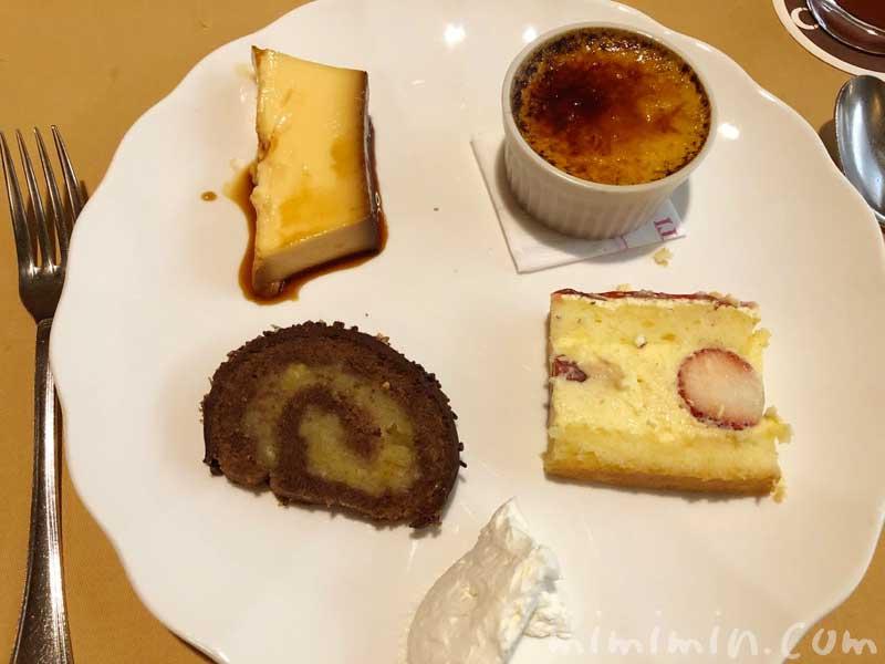 デザート|キャンティ 西麻布店でディナー(2回め)|広尾のイタリアンの写真