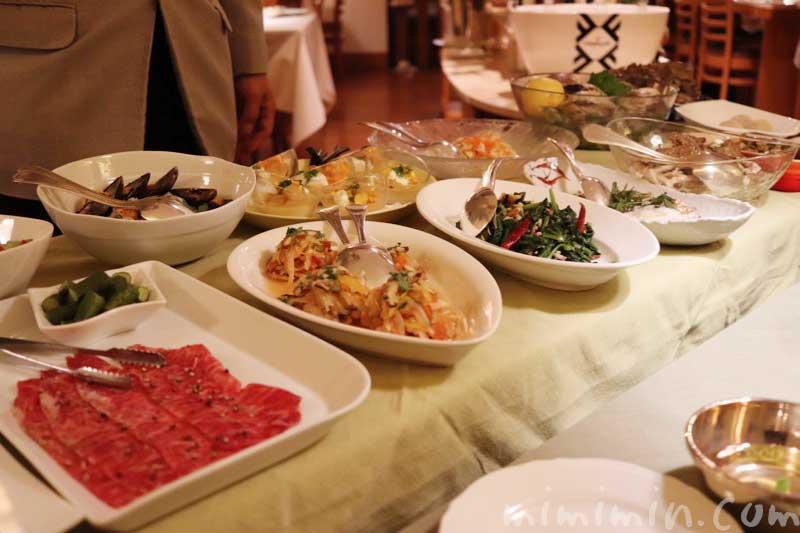 前菜のワゴン|アッピア本店(2回め)|イタリアンの画像
