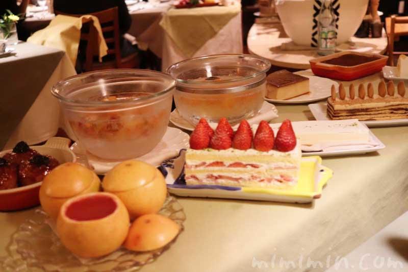 デザートワゴン|アッピア本店でディナー(2回め)の写真