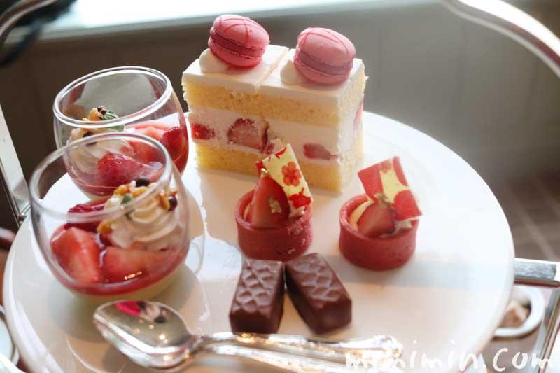 デザート|帝国ホテル東京のストロベリーアフタヌーンティー|インペリアルラウンジ アクアの画像