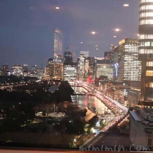 日比谷の夜景|帝国ホテル東京 インペリアルラウンジ アクアの画像