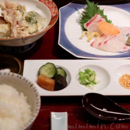 日本料理 舞 ランチ・季節のおたより御膳 桜花舞の頃のたより