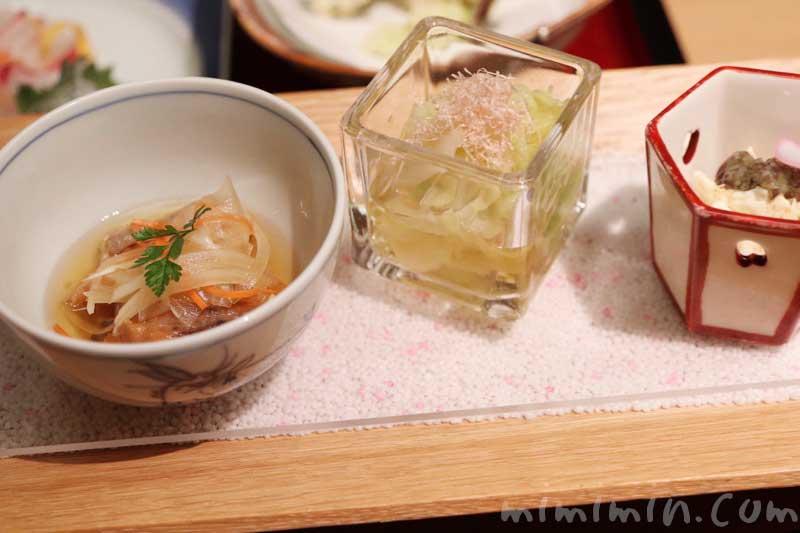日本料理 舞・季節のおたより御膳の小鉢 |ウエスティンホテル東京の写真