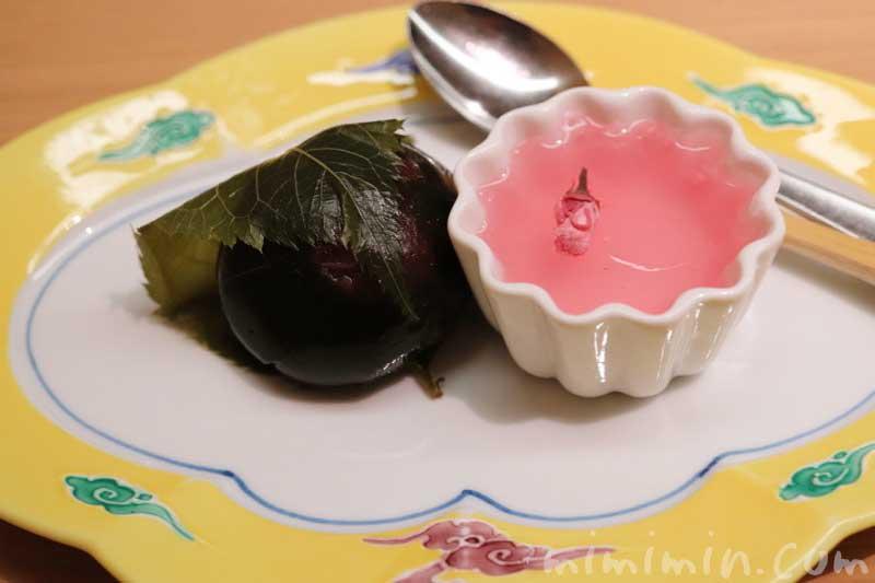 デザート|日本料理 舞でランチ・季節のおたより御膳 の写真