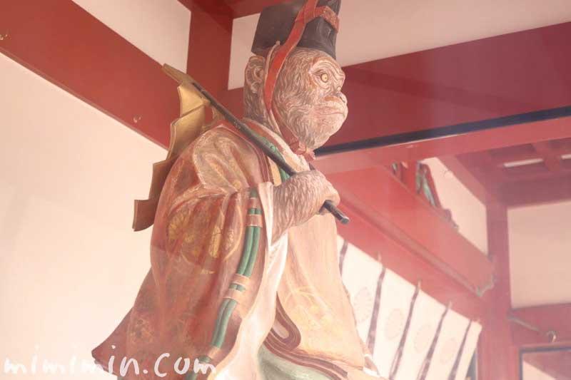 日枝神社の神猿像の画像